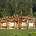 Entdecker-Pavillon am Sportplatz Breitenbach